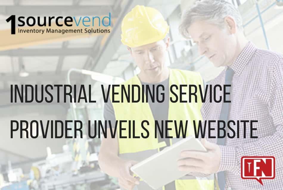 Industrial Vending Service Provider Unveils New Website