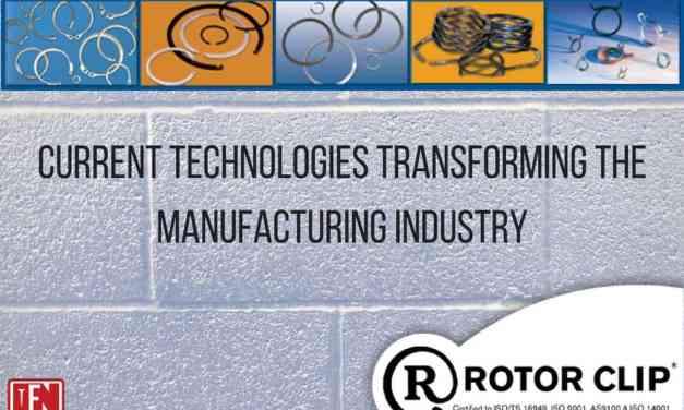 Current Technologies transforming the Manufacturing Industry