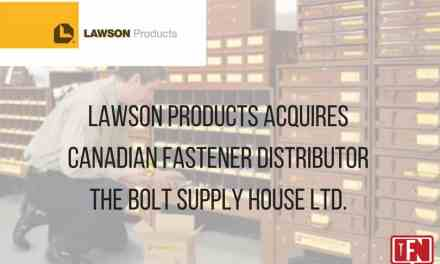 Lawson Products Acquires Canadian Fastener Distributor The Bolt Supply House Ltd.