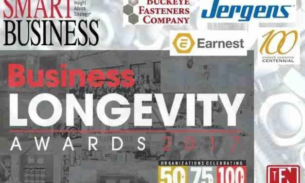 Several NE Ohio Fastener Companies Receive 2017 Business Longevity Awards