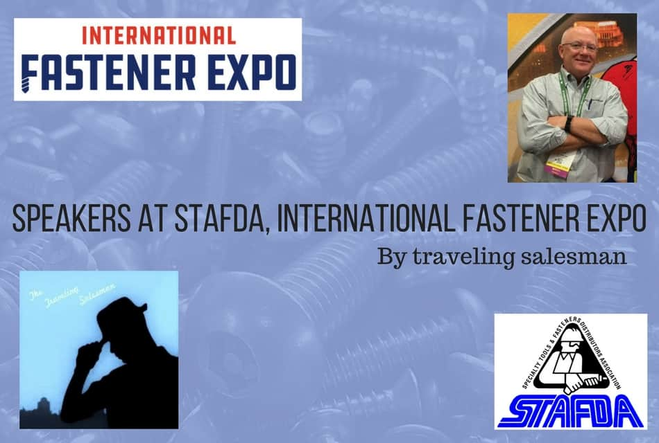Speakers at STAFDA, International Fastener Expo