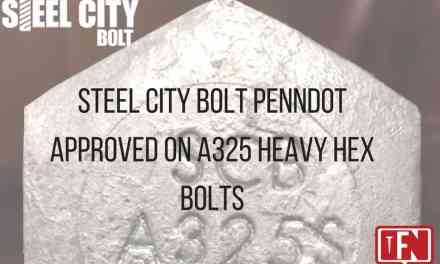 Steel City Bolt Receives Penn DOT Approval on A325 Heavy Hex Bolts