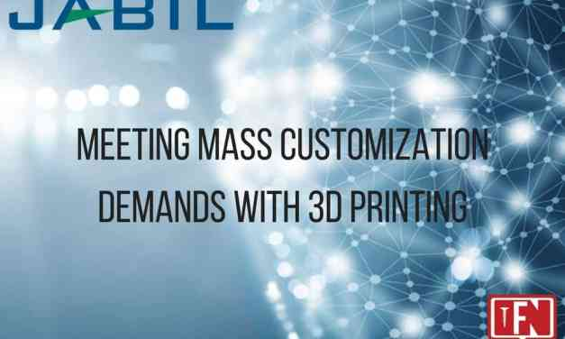 Meeting Mass Customization Demands with 3D Printing