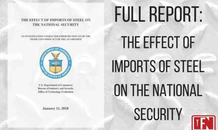 Full Report: The Effect of Imports of Steel on the National Security