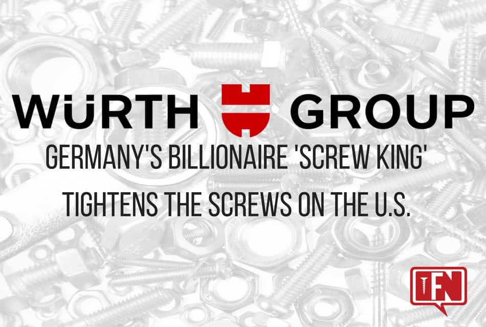 Germany's Billionaire 'Screw King' Tightens the Screws on the U.S.