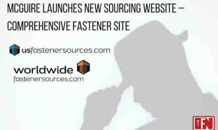 McGuire Launches New Sourcing Website – Comprehensive Fastener Site