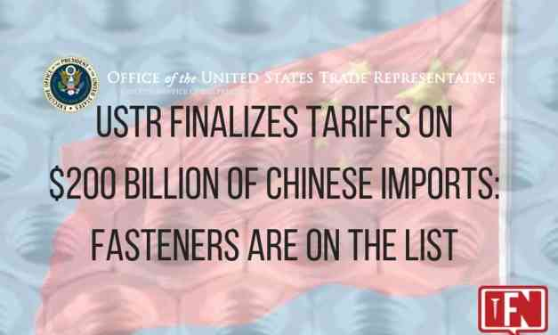 USTR Finalizes Tariffs on $200 Billion of Chinese Imports