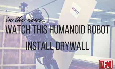 Watch This Humanoid Robot Install Drywall