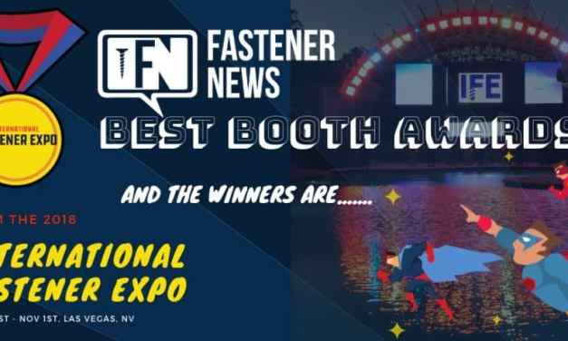 The 2018 Best Booth Award Winners Revealed….