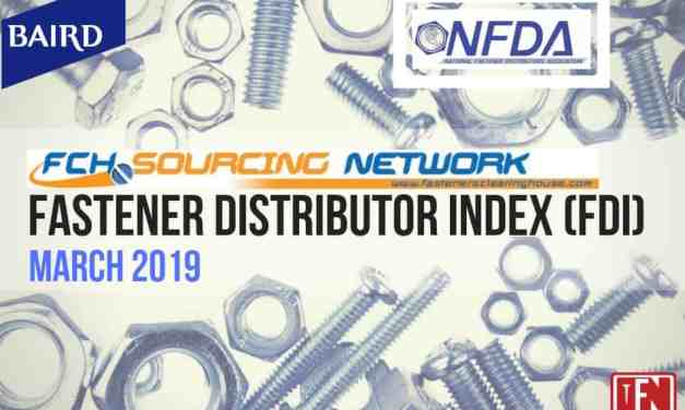 FASTENER DISTRIBUTOR INDEX – MARCH 2019