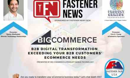 Fastener News Desk Sponsors Digital Transformation Session at Fastener Fair Detroit
