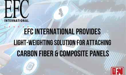 EFC International Provides Light-Weighting Solution For Attaching Carbon Fiber & Composite Panels