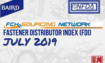 Fastener Distributor Index – July 2019