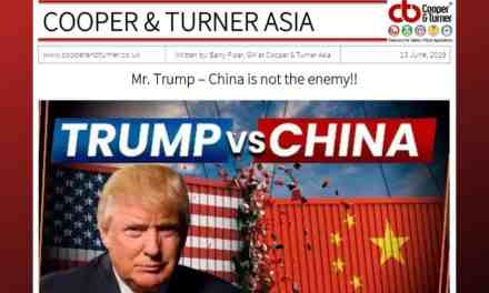 MR TRUMP AND CHINA