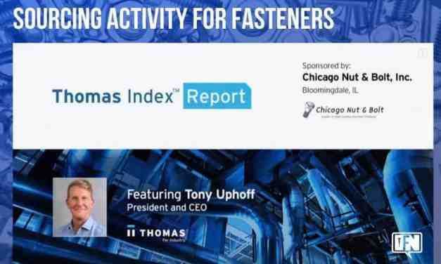 Thomas Index Report: Sourcing Activity for Fasteners
