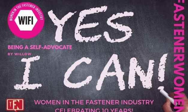 "Fastener Women Being A Self Advocate: When and why to say, ""yes"""