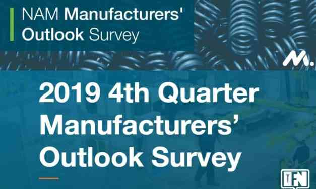 NAM Manufacturers' Outlook Survey: Fourth Quarter 2019