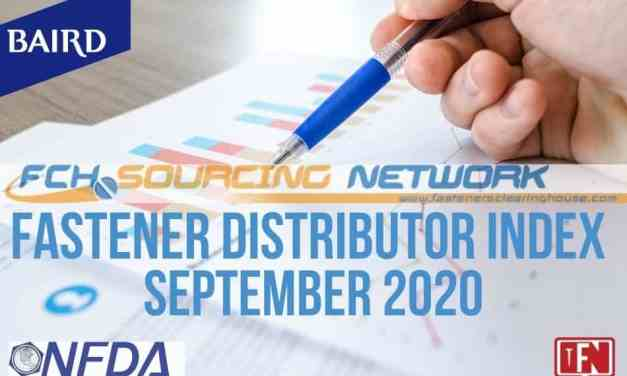 Fastener Distributor Index (FDI) Survey September 2020