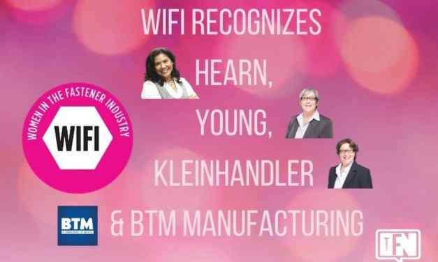 WIFI recognizes Hearn, Young, Kleinhandler and BTM Manufacturing
