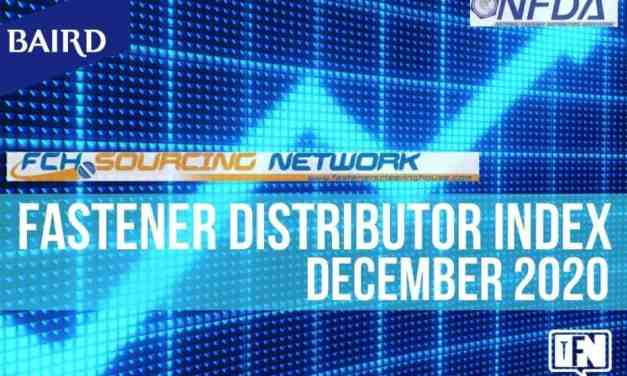 FASTENER DISTRIBUTOR INDEX (FDI) SURVEY DECEMBER 2020