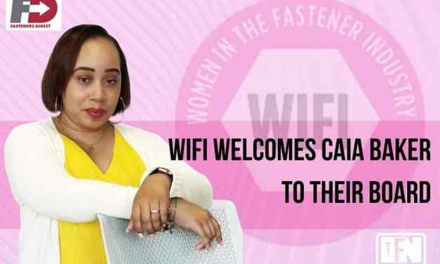 WIFI welcomes Caia Baker, VP of Procurement-Fasteners Direct, to their Board