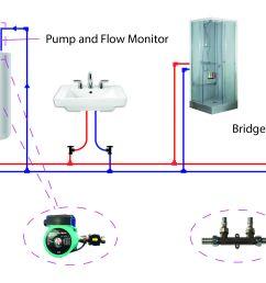 hot water plumbing diagram wiring diagram list hot water heater plumbing diagram hot water plumbing diagram [ 2817 x 1545 Pixel ]