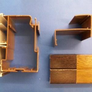 25mm Poly Eaves Beam (Woodgrain) | Conservatory Roof Bars | Conservatory Bars | PVC Bars | Faster Plastics