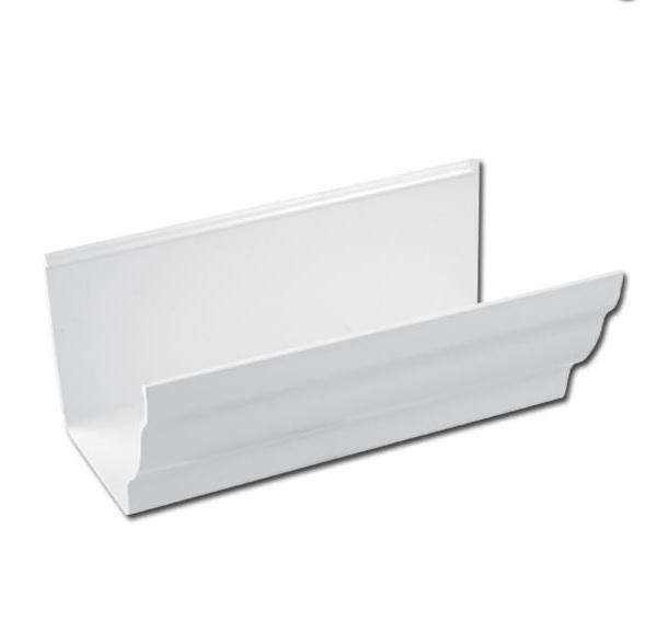 Ogee Gutter 4 Mtr (White)   Ogee Gutter Fascia Bracket (White)   Guttering   PVC Gutter   PVC Rainwater Goods   Faster Plastics