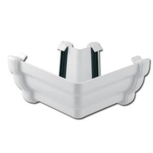 Ogee Gutter Angle Ext 90 Deg (White) | Guttering | PVC Gutter | PVC Rainwater Goods | Faster Plastics