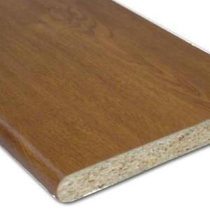 Laminated Cill (Golden Oak) | Cills and Skirting | Faster Plastics