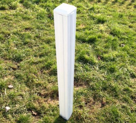 Universal Finishing Post | PVC Fence | Faster Plastics