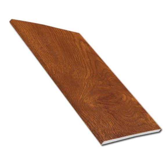 9mm Soffit Board - Light Oak | Faster Plastics
