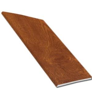 9mm Soffit Board - Light Oak   Faster Plastics