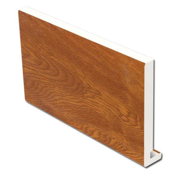 16mm Square Fascia (Light Oak) | Faster Plastics