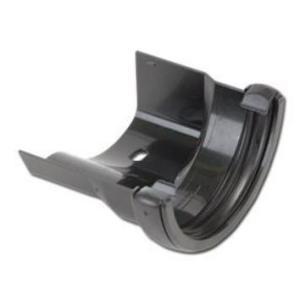 Cast Iron Effect Gutter | Half-Round/Cast Iron LH Gutter Adaptor | PVC Gutter | Faster Plastics