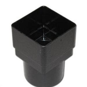 Cast Iron Effect Gutter | Square/Round Downpipe Adaptor | PVC Gutter | Faster Plastics
