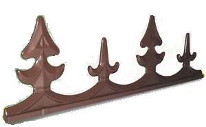 Aluminium Cresting | Timber Glazing Bars | Faster Plastics