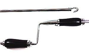 Manual Vent Crank Handle Pole   Faster Plastics