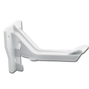 Ogee Gutter Fascia Bracket Top Hung (White) | Guttering | PVC Gutter | PVC Rainwater Goods | Faster Plastics