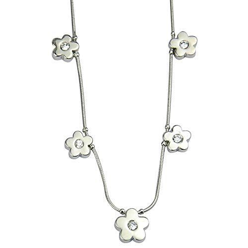 16″-19″ Lia Sophia Jewelry Floral Necklace for Woman