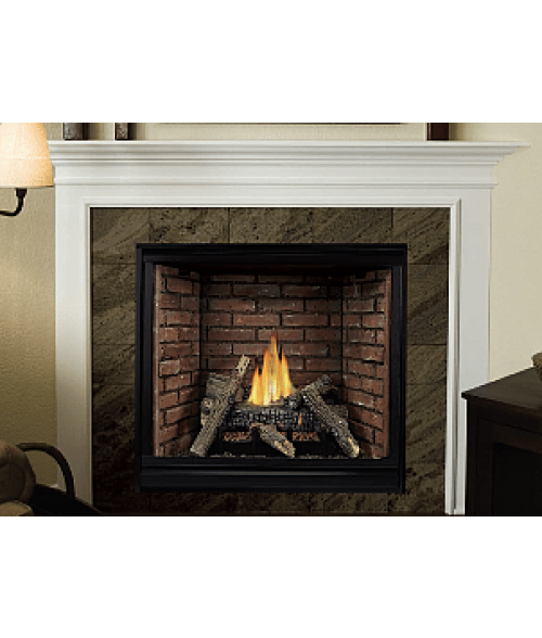 Empire Tahoe Clean Face Direct Vent Contemporary Fireplace