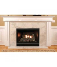 Empire Tahoe Clean Face Direct Vent Deluxe Fireplace (32 ...