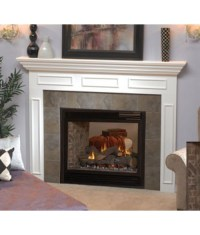 "Empire Tahoe Direct Vent See-Through 36"" Fireplace (Logs ..."