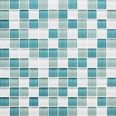 American Olean Color Appeal Glass Blends Mosaic 1 x 1 Tile