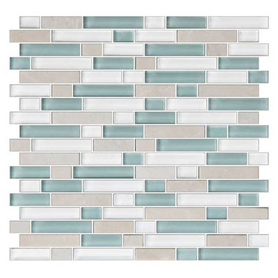 American Olean Color Appeal Glass Blends Random Mosaic 58