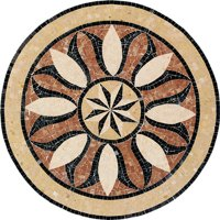 Daltile Medallions - Stone Medallions Bussola Polished Small