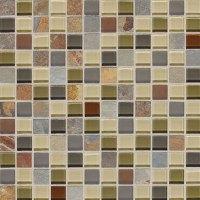 Daltile Fashion Accents Slate Radiance 1x1 Mosaic Tile ...