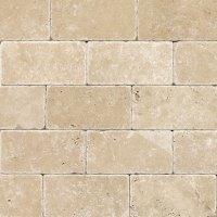 Daltile Travertine Natural Stone Tumbled 3 x 6 Tile ...