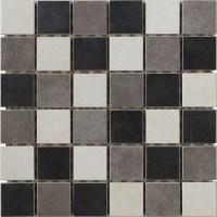 Interceramic Concrete Mosaics Tile & Stone Colors