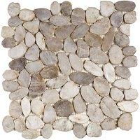 Interceramic River Rocks Mosaics Tile & Stone Colors